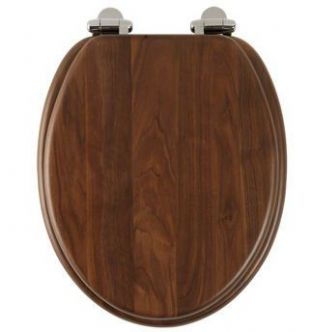 Roper Rhodes - Traditional Soft Close Toilet Seat (Walnut) - 8081AWSC